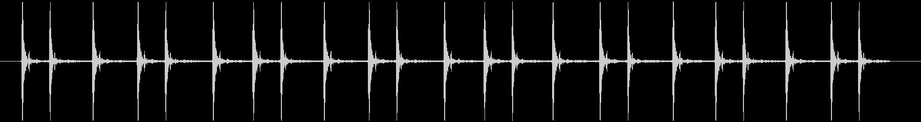 震える慌てる コミカル カタカタカタ…の未再生の波形
