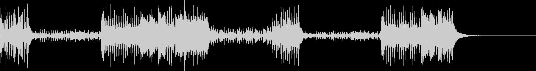 ラデツキー行進曲 クラシック定番曲の未再生の波形