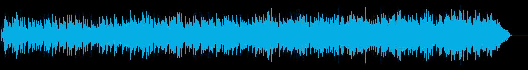 琴とバイオリンを使った和風な楽曲の再生済みの波形