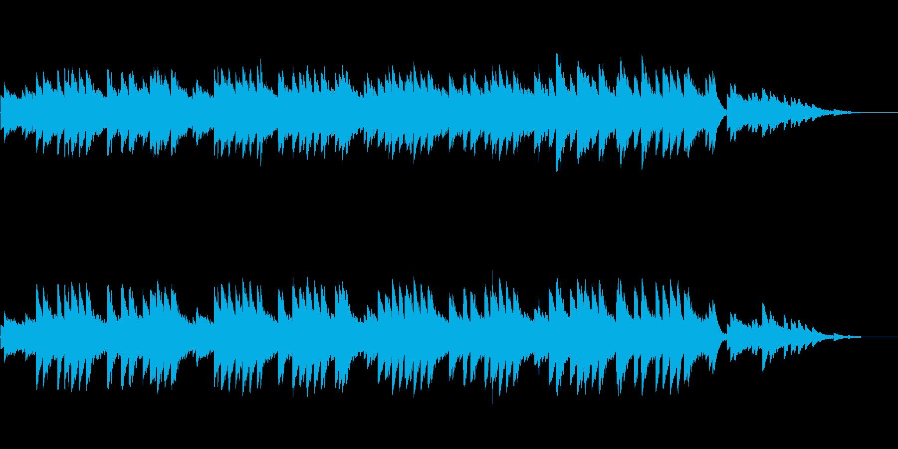 8bitクラシック-歌の翼に-の再生済みの波形