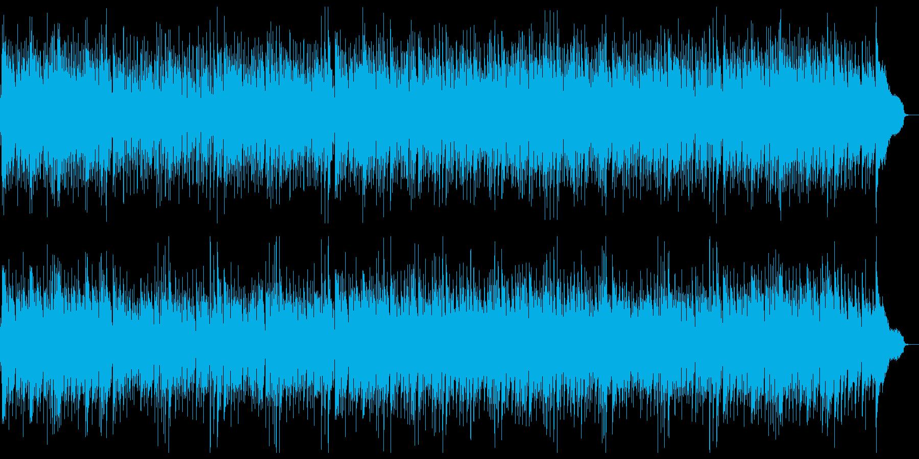 ぶらり旅:ユーモラスで楽しい和風曲 の再生済みの波形
