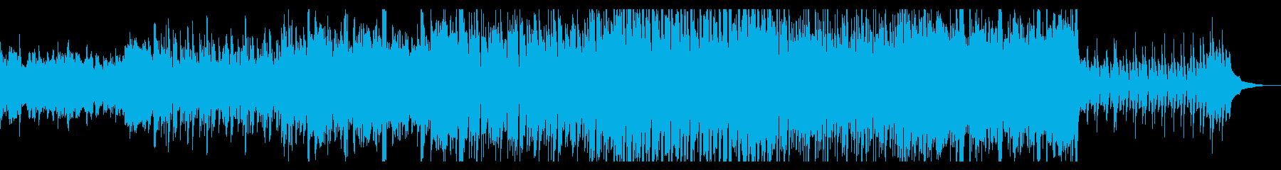 奇妙なデジタルテクスチャの再生済みの波形