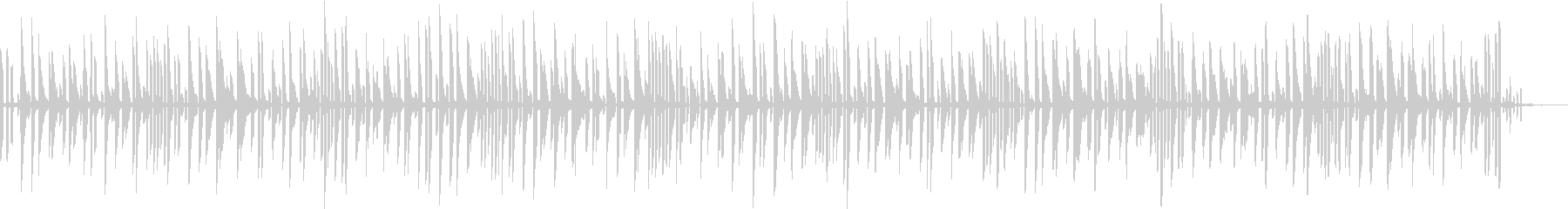 ポンベッドの未再生の波形