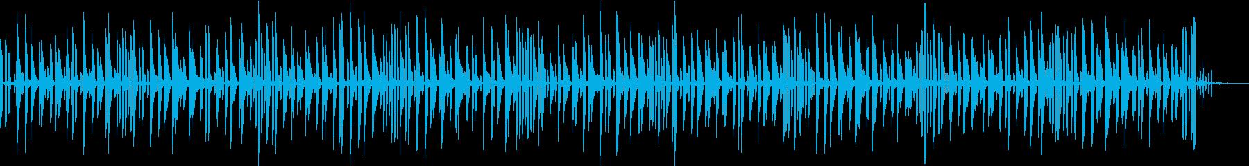 ポンベッドの再生済みの波形