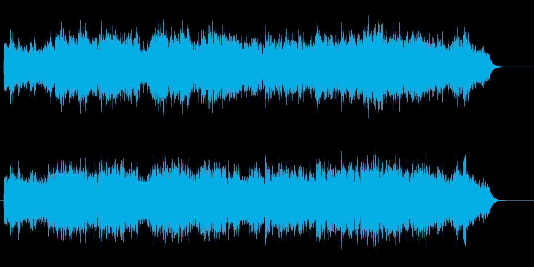 爽やかなアンビ風ライト・ポップスの再生済みの波形