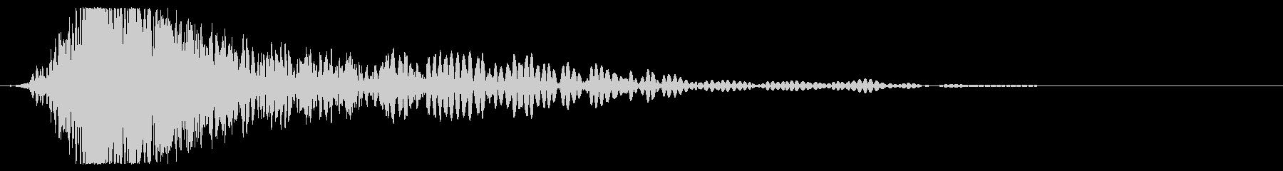レイルガン:シングル:Shot O...の未再生の波形