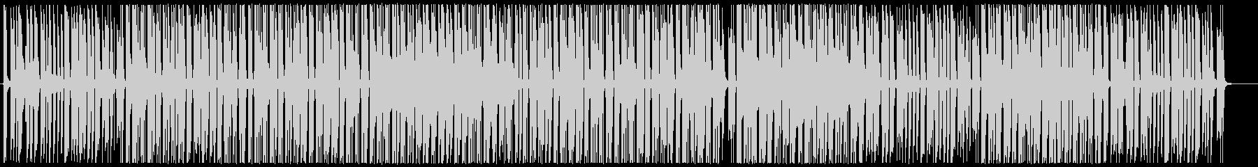 お洒落なピアノヒップホップの未再生の波形