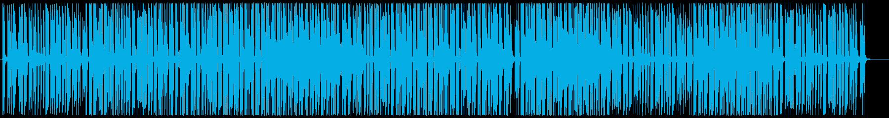 お洒落なピアノヒップホップの再生済みの波形