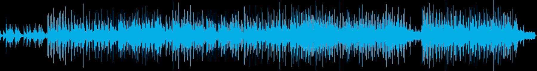 ドラマチックで切ないメロディの再生済みの波形