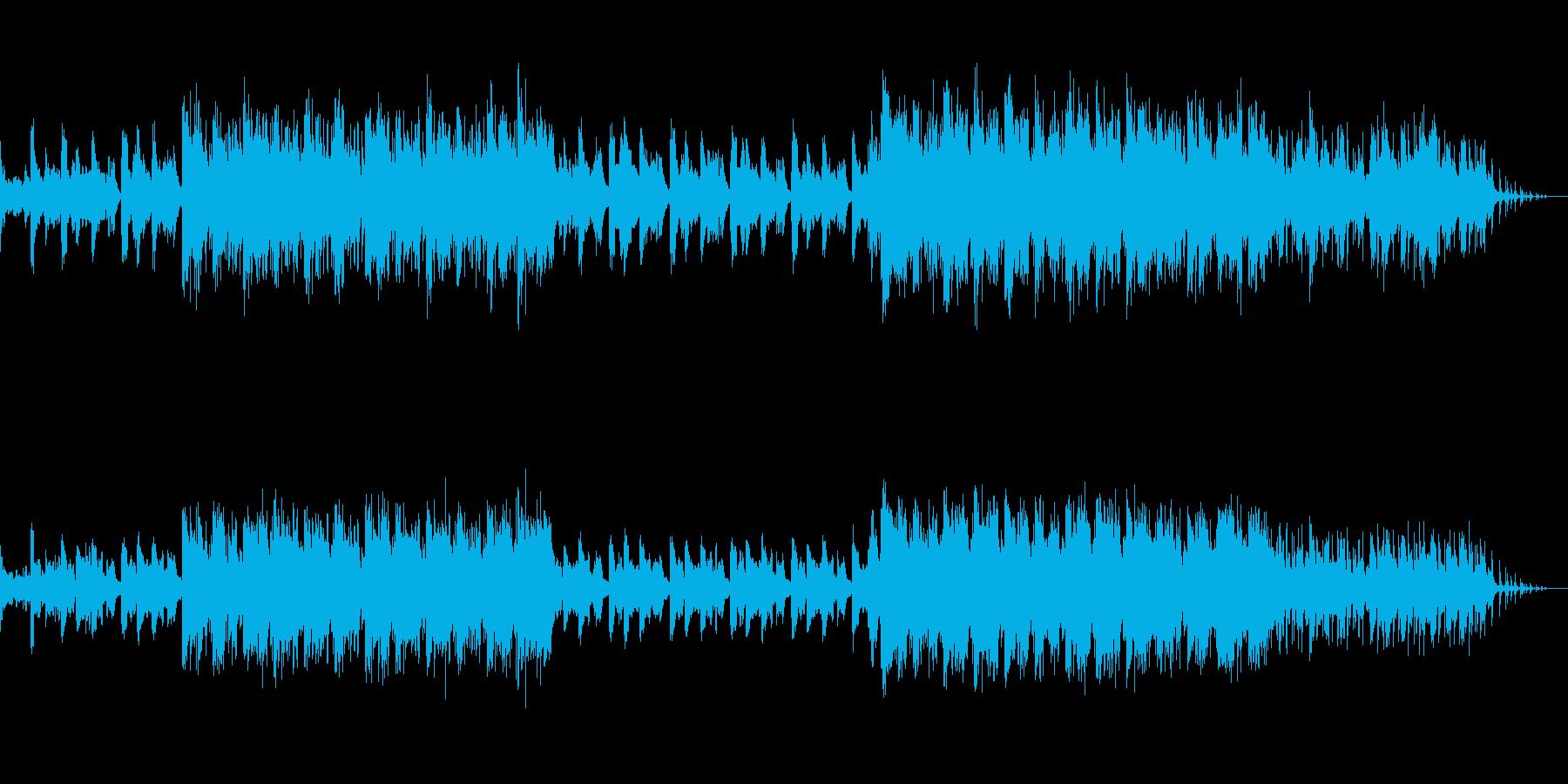 波に揺られるような幻想的なバラードの再生済みの波形