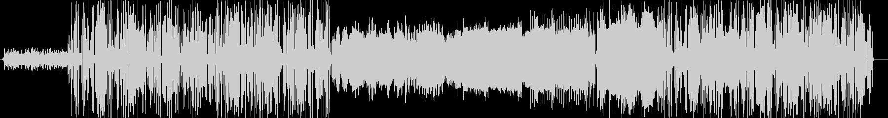 アナログシンセを活用したフュージョンの未再生の波形