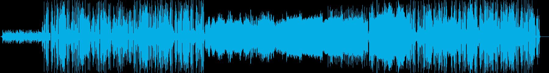 アナログシンセを活用したフュージョンの再生済みの波形