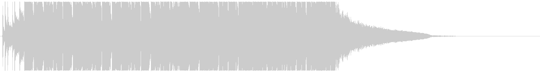 ノリの良いおしゃれなEDM TIKTOKの未再生の波形