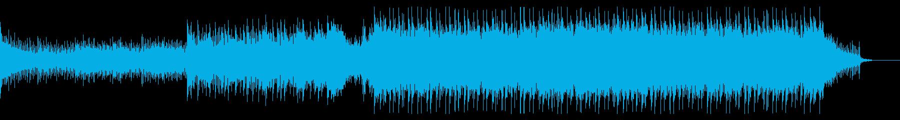 疾走感ある戦闘シーン系Drum&Bassの再生済みの波形