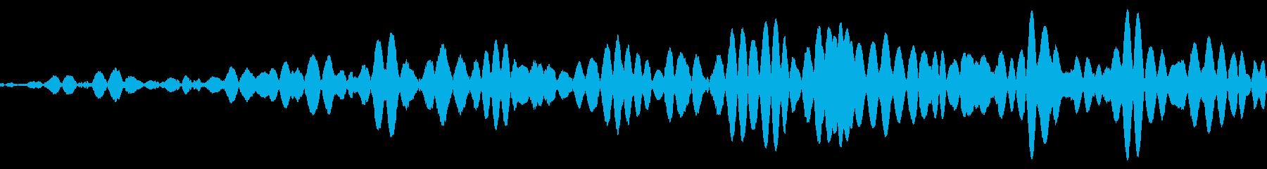 スワイプ・パワーを溜める音の再生済みの波形