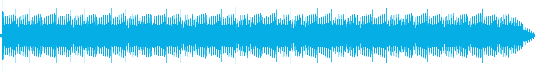 トーンリングバードループの再生済みの波形