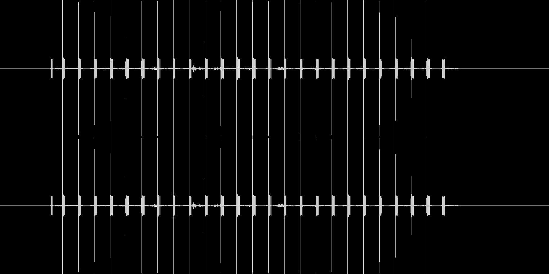 間違い時の機械音/長めの未再生の波形