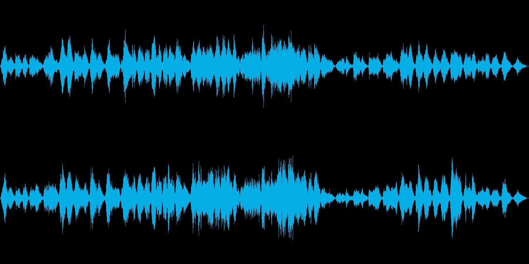 ドビュッシー「月の光」ストリングス編曲の再生済みの波形