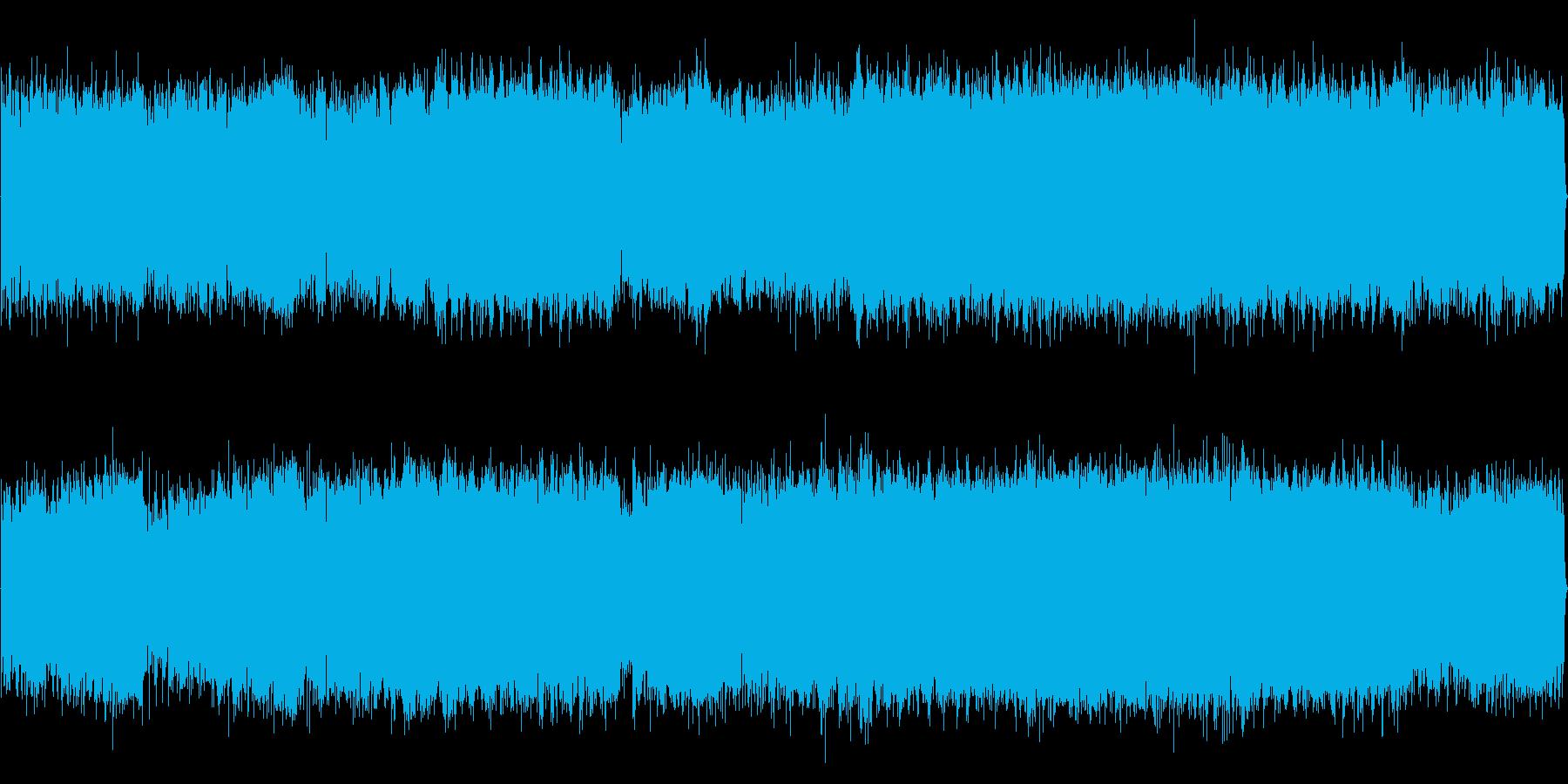 のびやかで明るめなインストの再生済みの波形