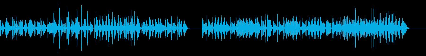 狩人の合唱をヴァイオリンソロでの再生済みの波形