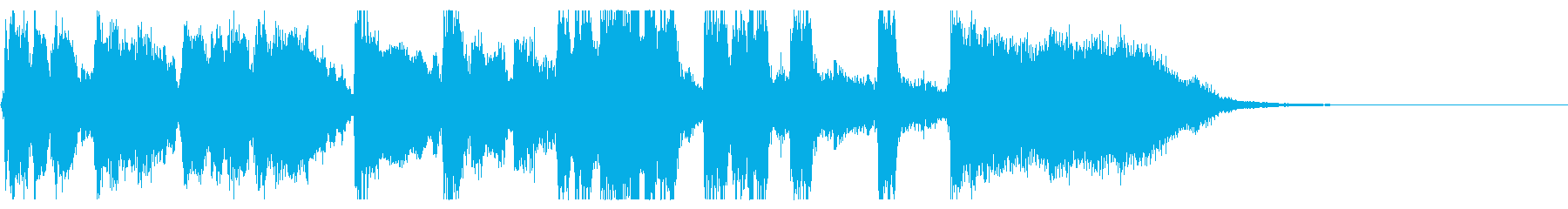 ジングル15秒・生演奏ジャズビッグバンドの再生済みの波形