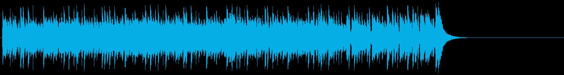 健やかなほのぼのポップ(サビ~イント…)の再生済みの波形