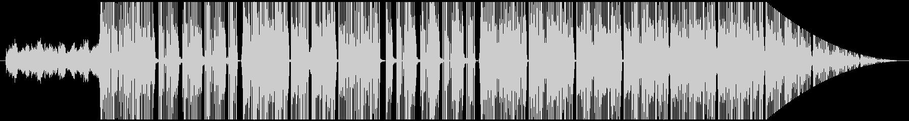 不気味で金を主張するtrap beatの未再生の波形