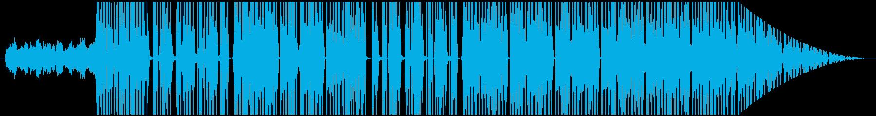 不気味で金を主張するtrap beatの再生済みの波形