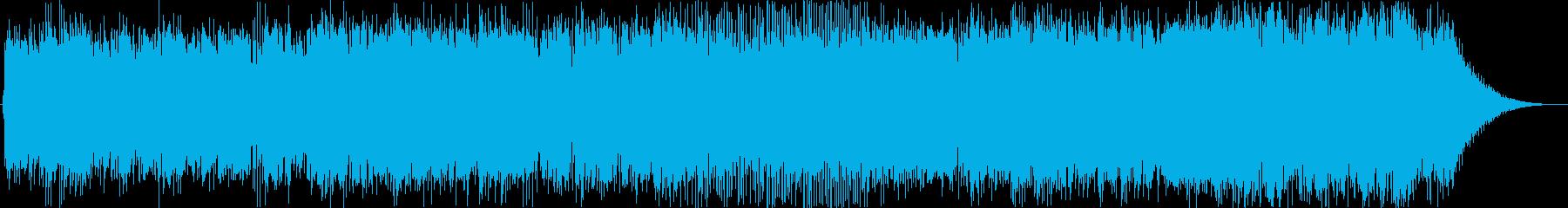 未来に向けて進み続けるメッセージソングの再生済みの波形