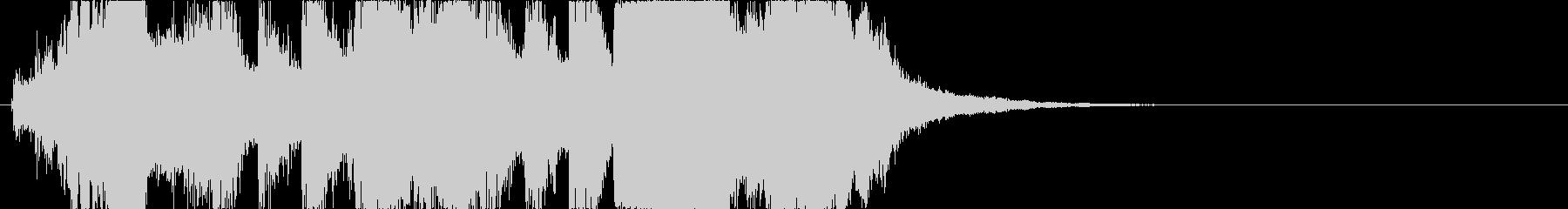 09 ホルンを中心としたファンファーレの未再生の波形