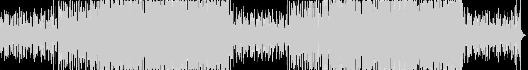 チルアウト軽快爽やかなトロピカルハウスeの未再生の波形