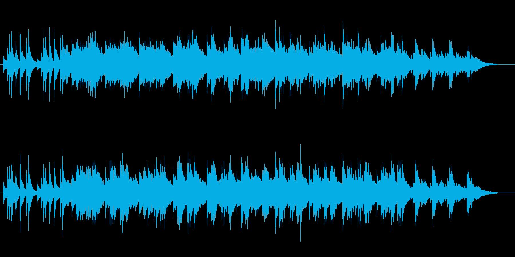 郷愁を感じる夏のピアノ曲 (short)の再生済みの波形