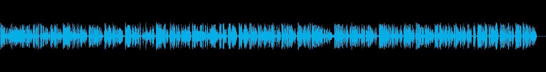 テレビ;男性のニュースレポート、音...の再生済みの波形
