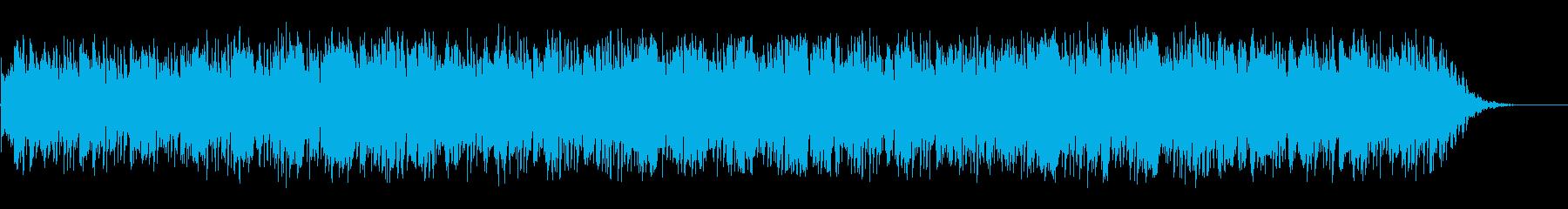 大気のアコースティックギターリズム...の再生済みの波形