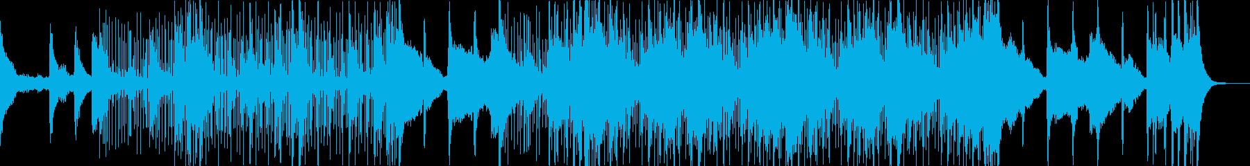 ノスタルジックヒップホップ(声ネタ無し)の再生済みの波形