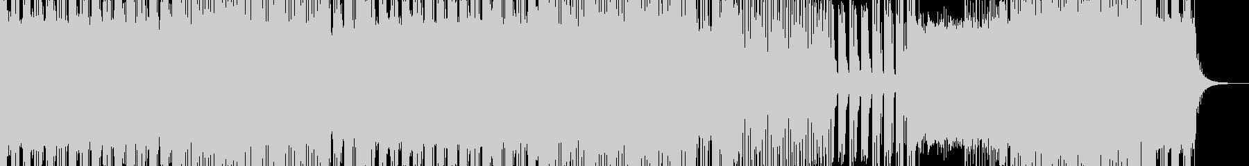 ゲームにマッチする高揚感のあるサウンドの未再生の波形