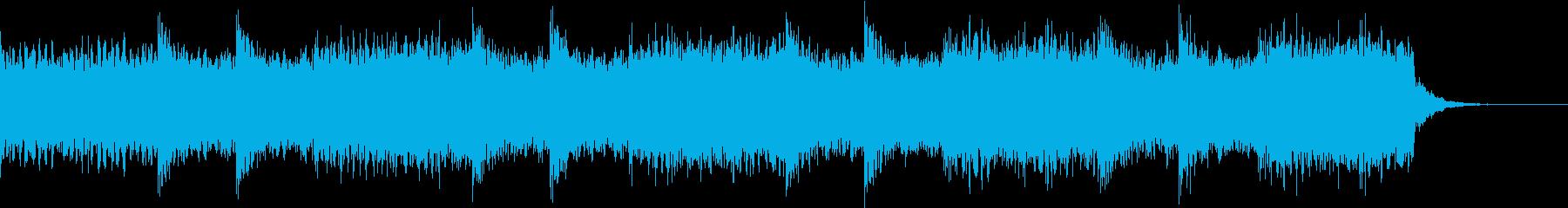 空気感・近代的・緊迫感・ジングル3の再生済みの波形