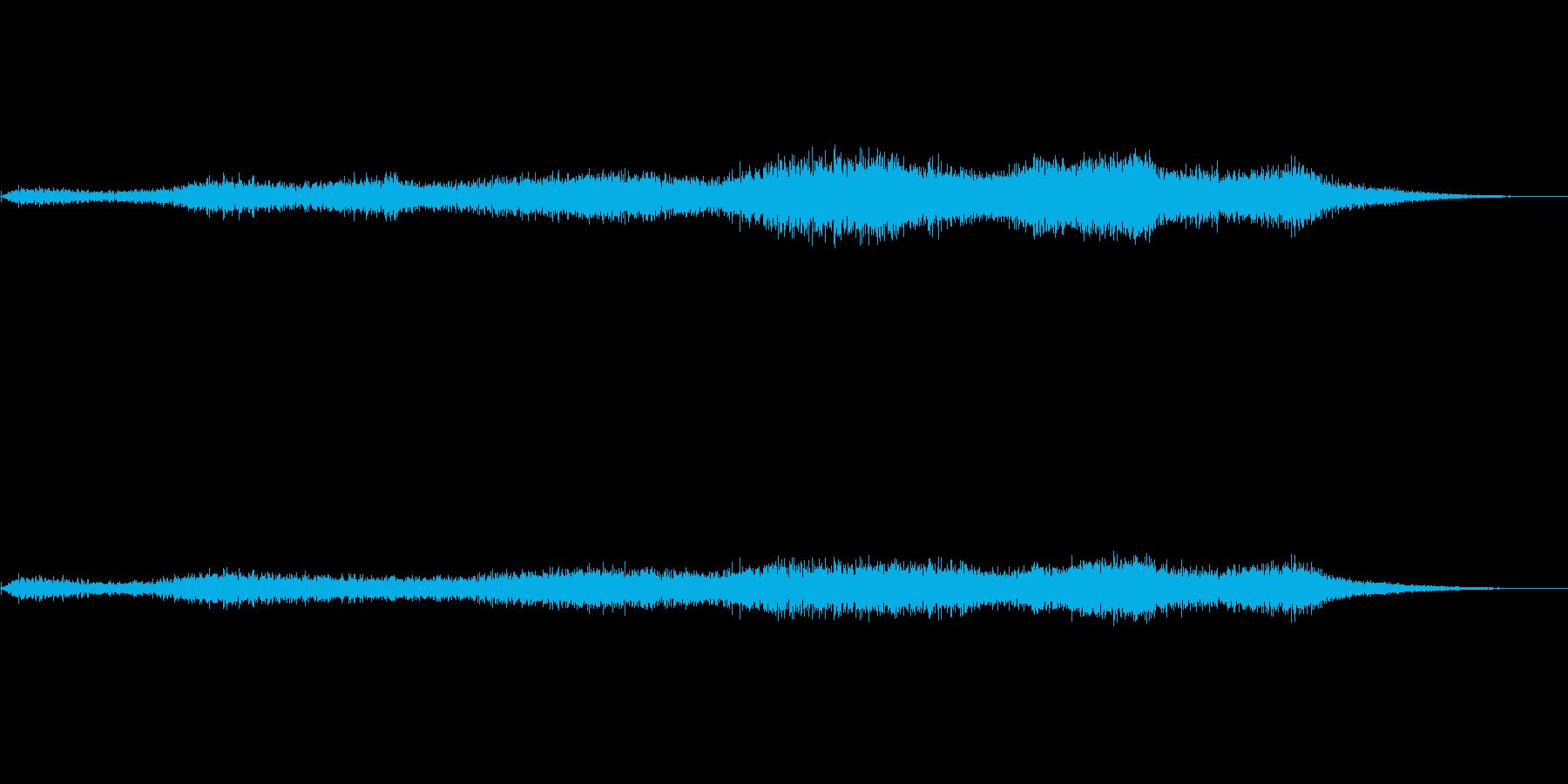 風の音が小さいバージョンですの再生済みの波形