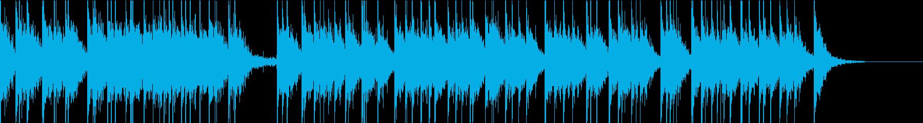 バンドンバンの再生済みの波形
