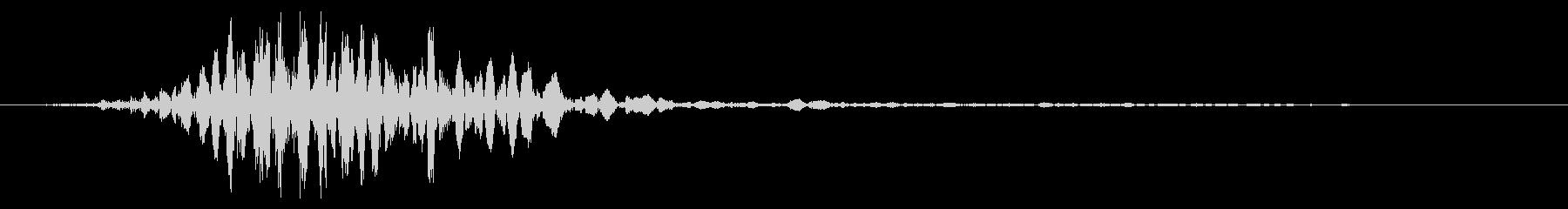 ワーム モンスター キャラタップ 困惑の未再生の波形