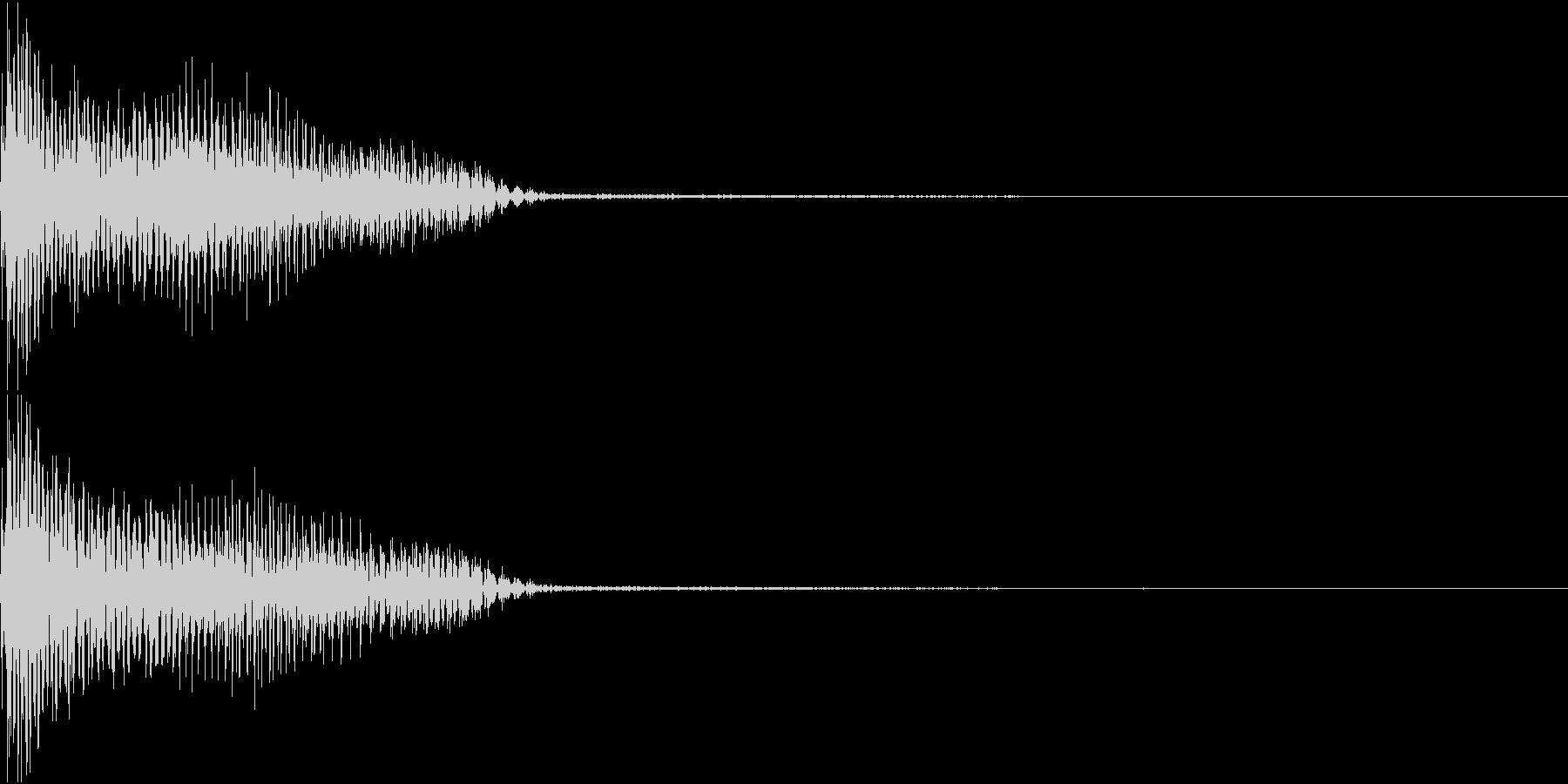 InvaderBuzz 発砲音 27の未再生の波形