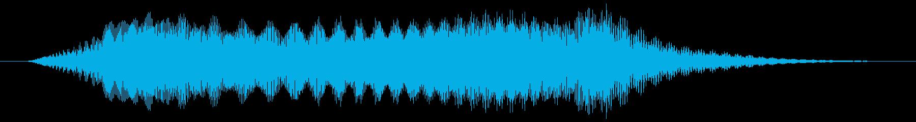 ぴょいっ/ジャンプ/避けるの再生済みの波形