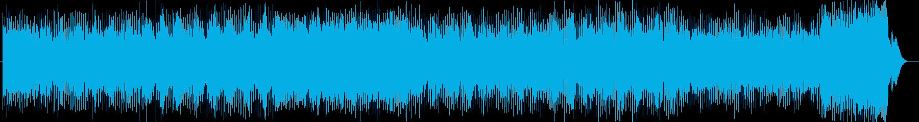 ポップで軽快なピアノテクノポップの再生済みの波形