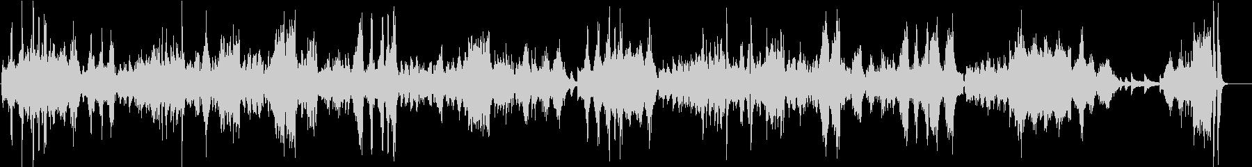ベートーヴェン月光ソナタ 第3楽章の未再生の波形