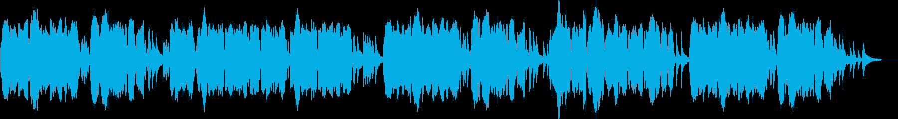 亡き王女のためのパヴァーヌ(ラヴェル)の再生済みの波形