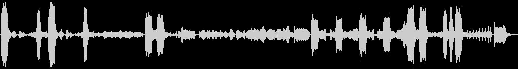 強弱激しいフルオーケストラ曲の未再生の波形