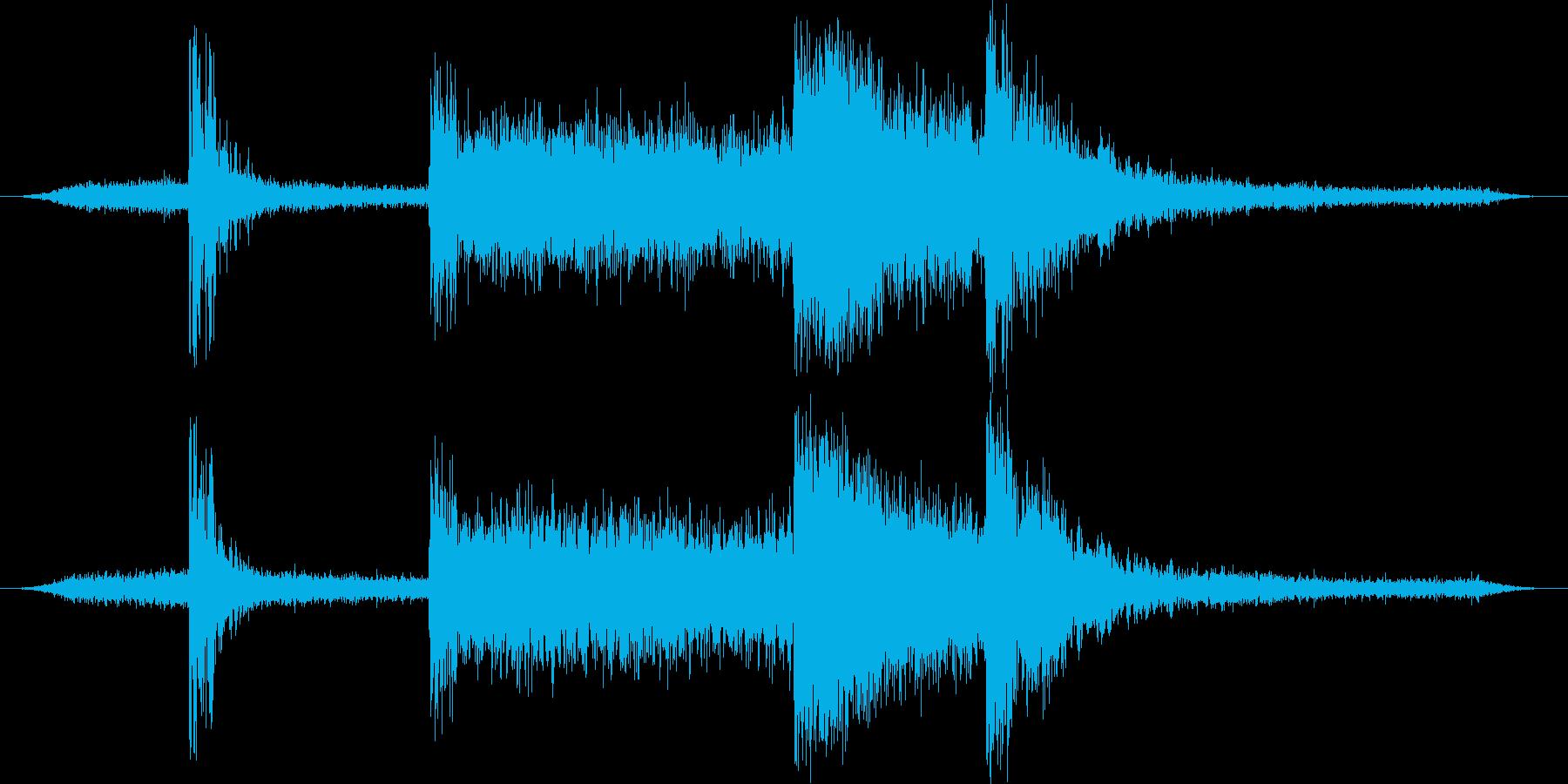 潜水艦:Int:プレッシャークリー...の再生済みの波形