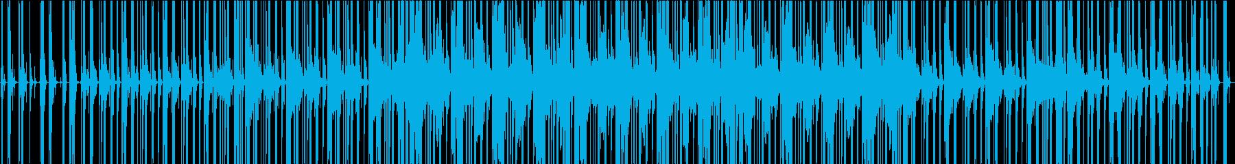 CHILL OUTトラックの再生済みの波形