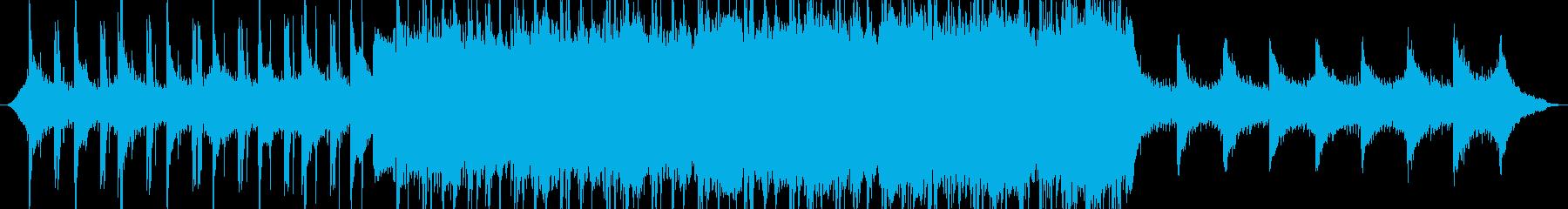 テクノロジーミュージックの再生済みの波形