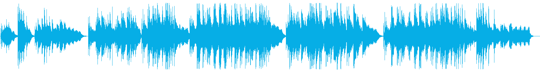 Innocent piano music's reproduced waveform